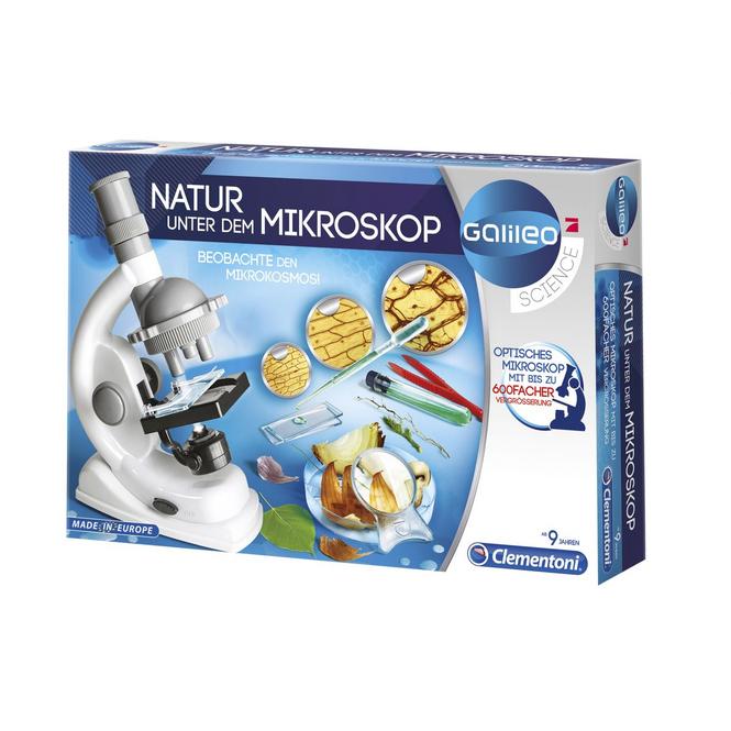 Galileo - Natur unter dem Mikroskop - Clementoni