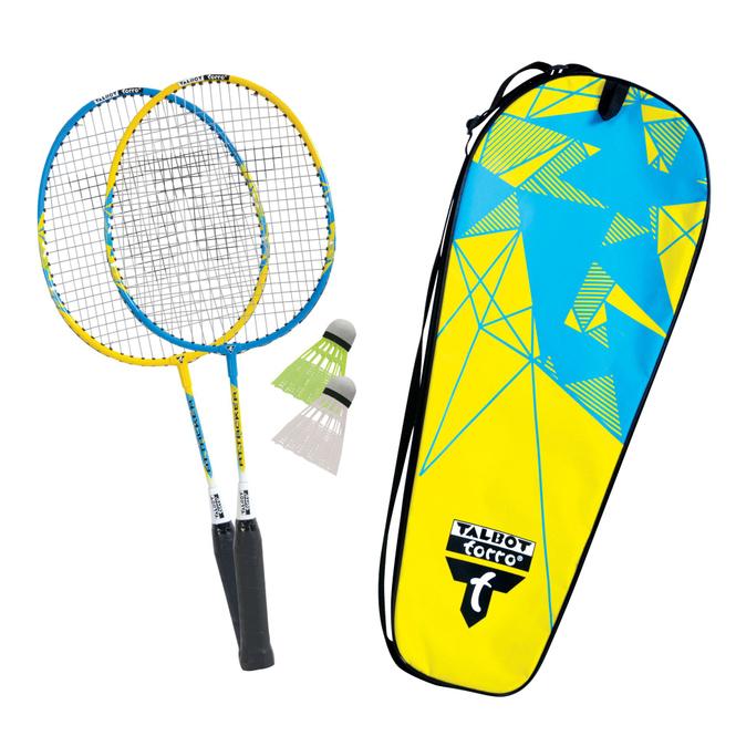 Badminton Junior 2-Attacker Set - Talbot Torro