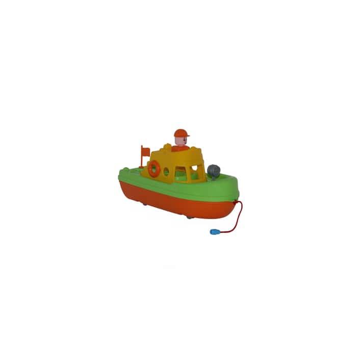 Rettungsboot mit Figur