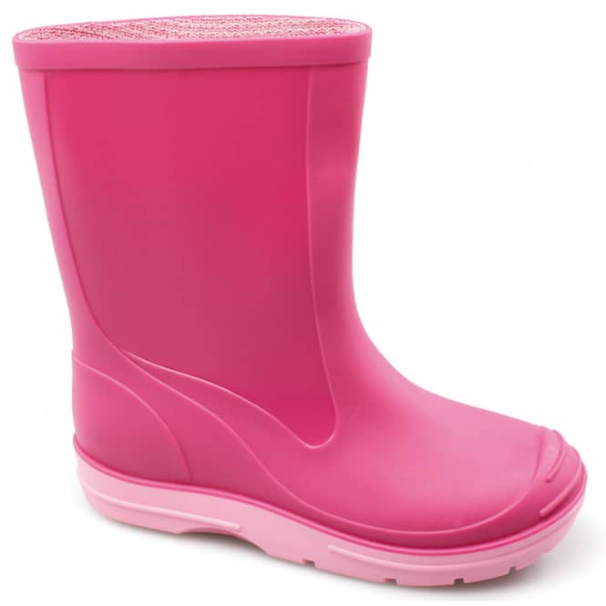 Gummistiefel - für Kinder - pink - Größe 24