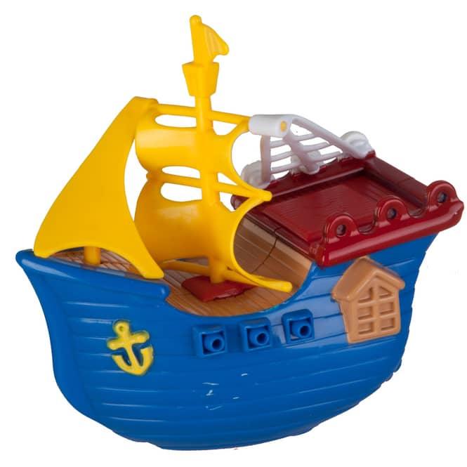 Badewannen-Spielzeug - Wasserfahrzeug - zum Aufziehen - 1 Stück