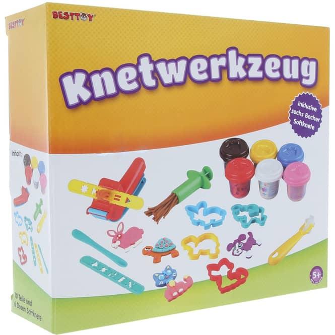 Besttoy - Knet-Set 16 Teile