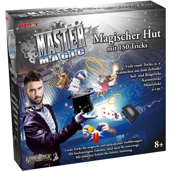 Besttoy - Master Magic Zauberhut - 150 Zaubertricks