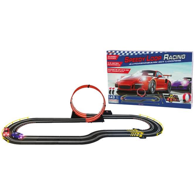 Autorennbahn mit Looping - Speedy Loop Racing