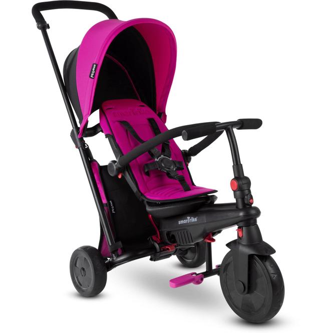 smarTrike Dreirad mit Dach - smarTfold 400S - pink