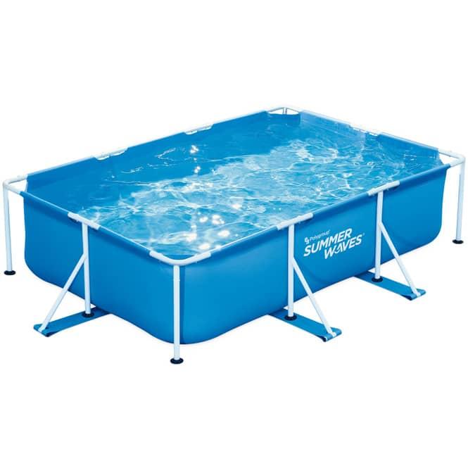 Rectangular Frame Pool Summer Waves - rechteckig - ca. 300 x 200 x 75 cm