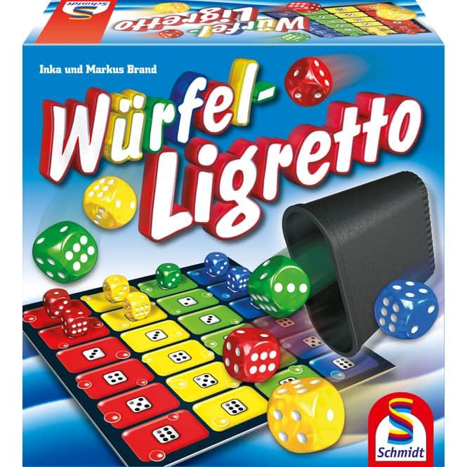 Würfel Ligretto Schmidt Spiele
