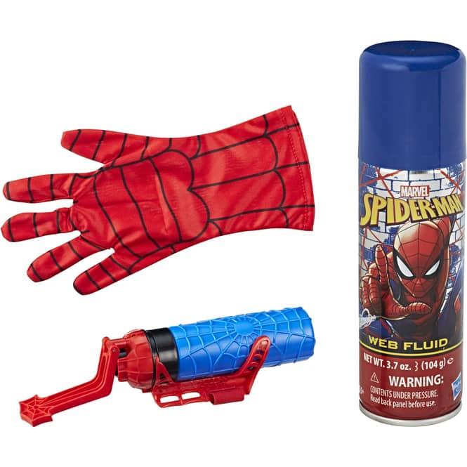Spiderman Mega Blast Web Shooter mit Handschuh
