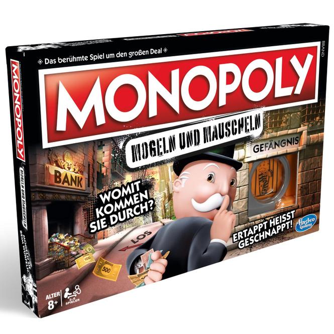Hasbro - Monopoly - Mogeln und Mauscheln