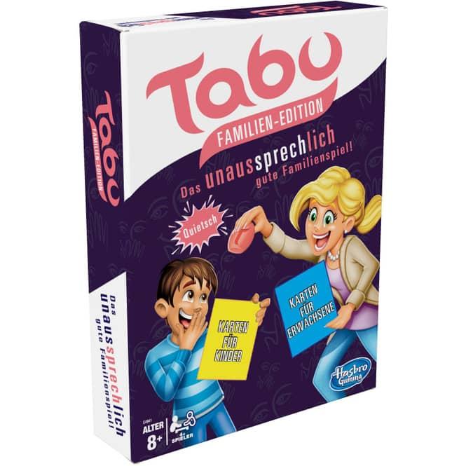 Hasbro - Tabu Familien-Edition