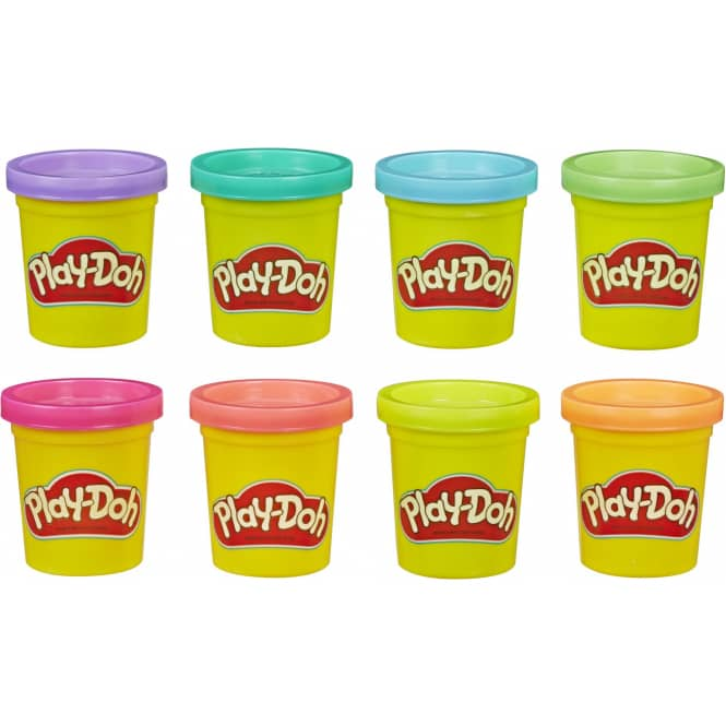 Play-Doh - 8er Pack Knete - Neon