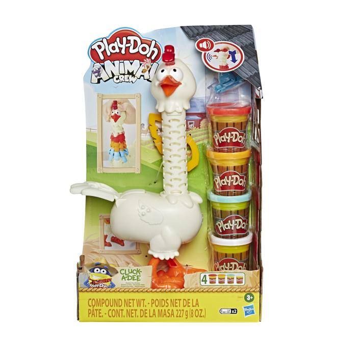 Play-Doh Animal Crew - Verrücktes Huhn - Knetset