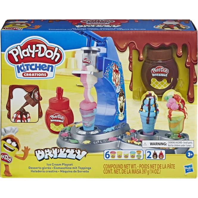 Play-Doh Kitchen - Eismaschine mit Toppings - Knetset