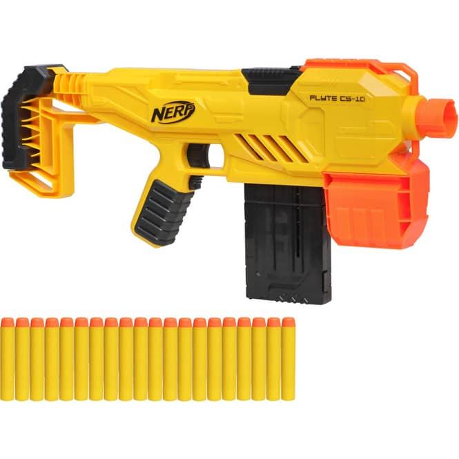 NERF Alpha Strike - Softdartpistole Flyte CS 10