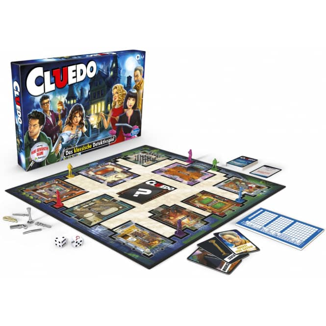 Spiel Cluedo - Neuauflage - Hasbro Gaming