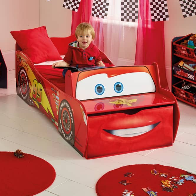 Cars - Kinderbett im Auto-Design - ca. 70 x 140 cm