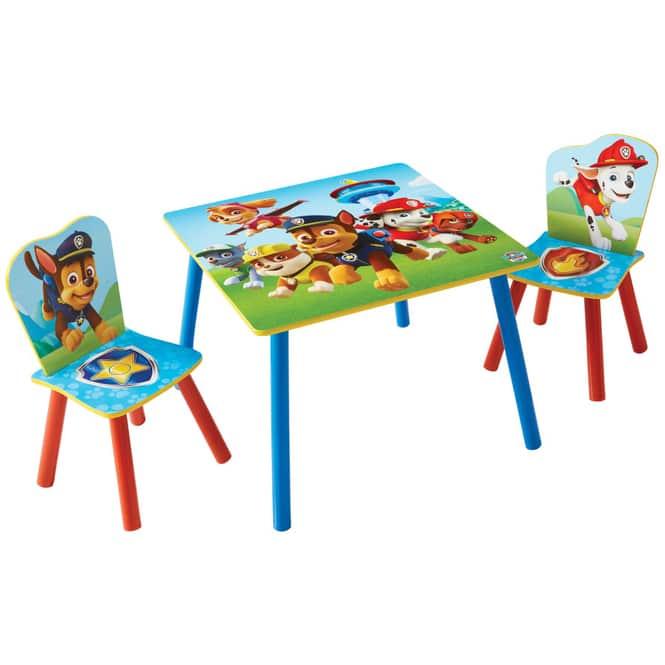 Paw Patrol - Holz Kinder-Sitzgruppe - blau