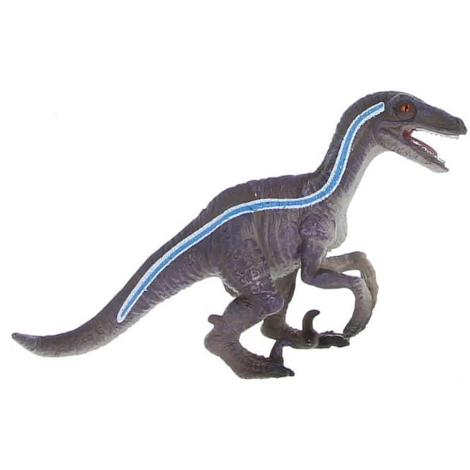 Besttoy Dinosaurier - Velociraptor hockend - Spielfigur 381022
