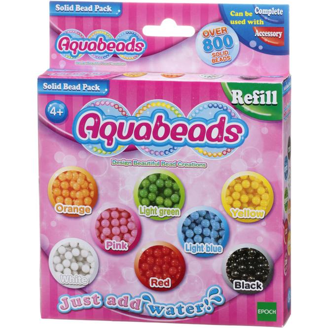 Aquabeads Perlen - Refill - Lieblingsfarben