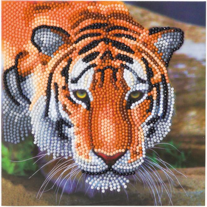 Crystal Art - Kristallkarte - Tiger
