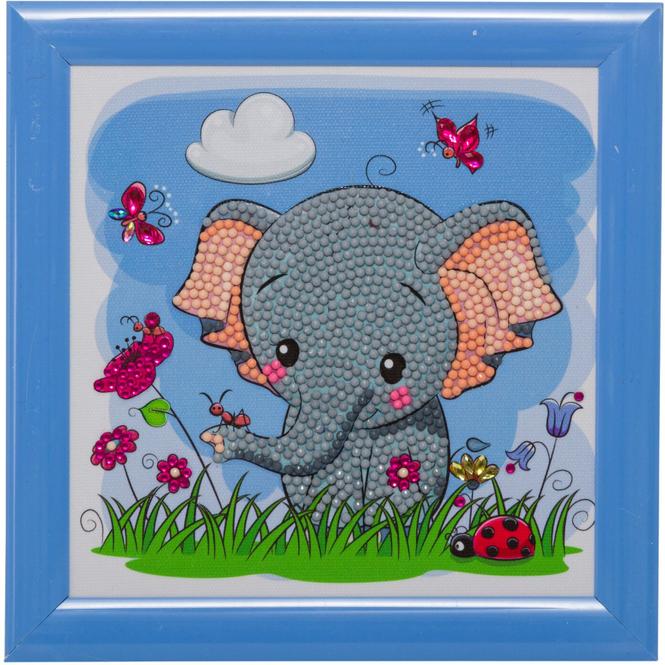 Crystal Art - Kristallbild - Elefant