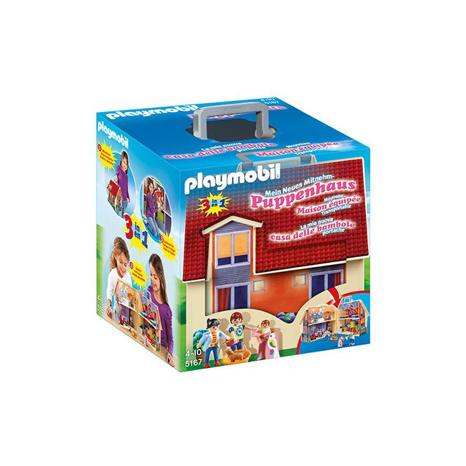 PLAYMOBIL® 5167 - Neues Mitnehm-Puppenhaus - Playmobil Puppenhaus