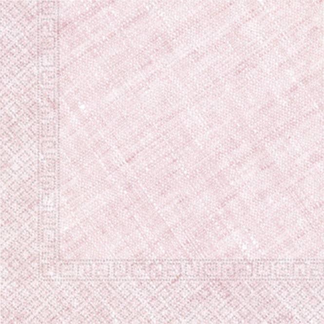 20 Servietten - rosa meliert