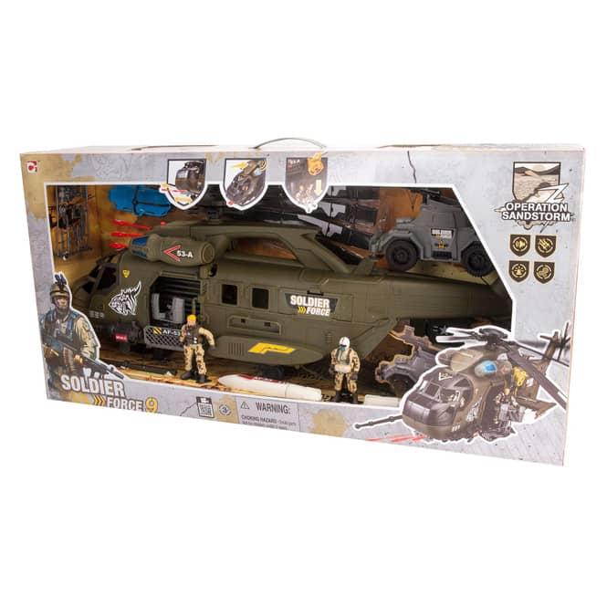 Besttoy - Soldier Force IX - Großer Transporthubschrauber
