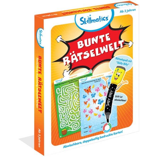 Spiel Bunte Rätselwelt - Skillmatics
