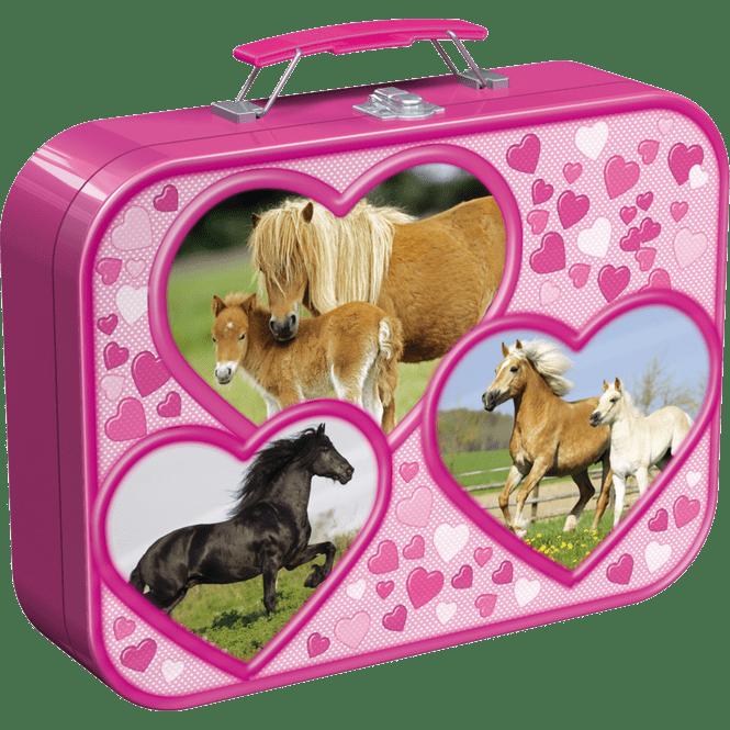 Puzzle-Box - Pferde - 4-in-1