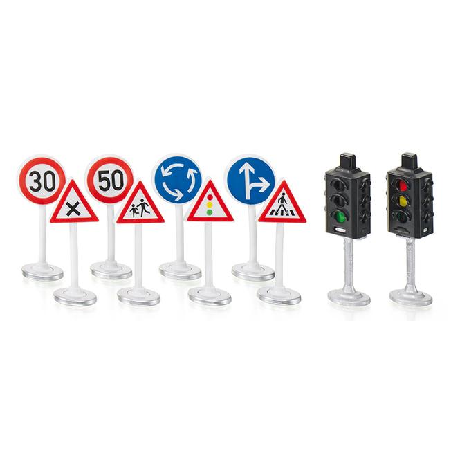 Siku World - 5597 - Ampel mit Verkehrsschildern