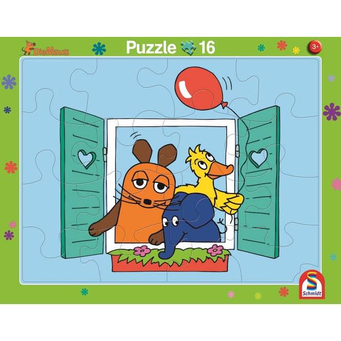 Rahmenpuzzle - Die Maus - 2er Set