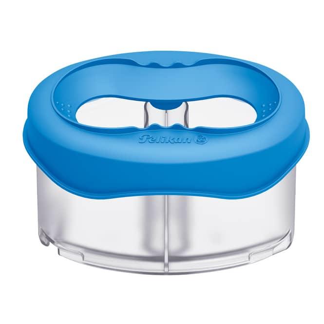 Wasserbox Space blau - Pelikan - mit Pinselablage