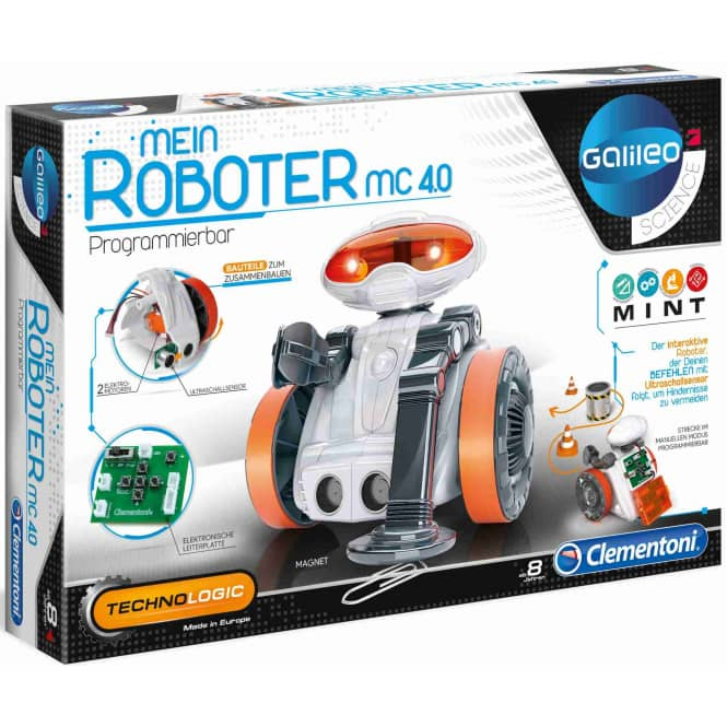 Galileo - Mein Roboter MC 40 - Clementoni