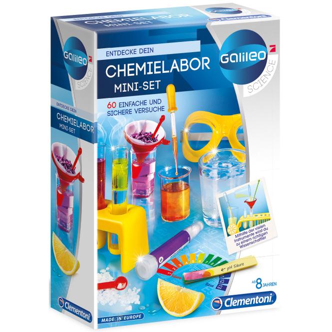 Galileo - Chemielabor Mini-Set - Clementoni