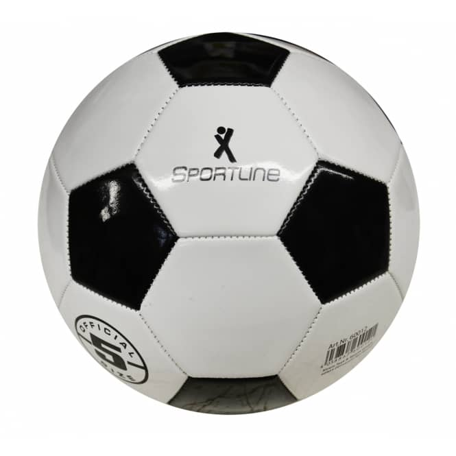 Fußball schwarz-weiß, Größe 5