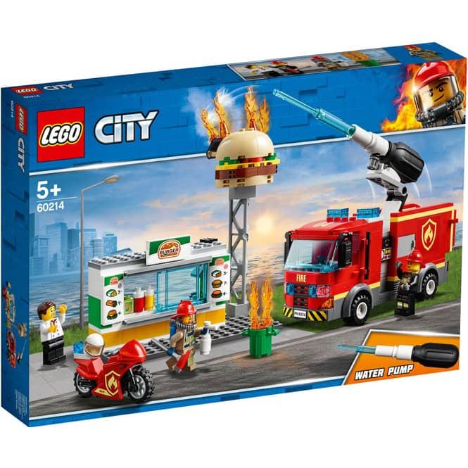 LEGO® City Feuerwehr 60214 - Feuerwehreinsatz im Burger-Restaurant