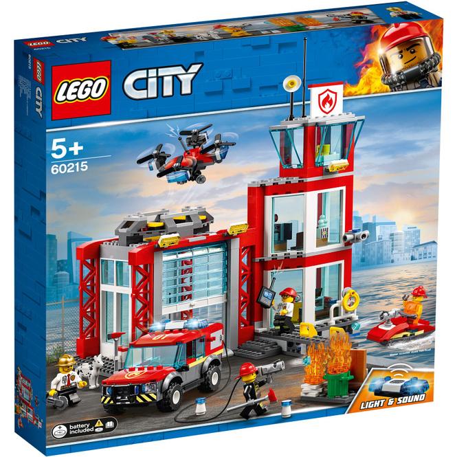 LEGO® City Feuerwehr 60215 - Feuerwehr-Station