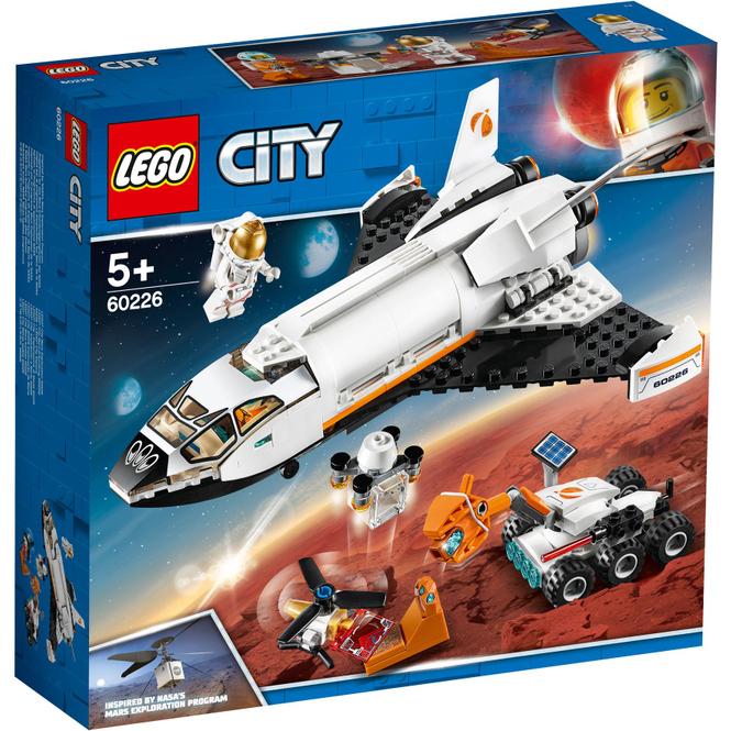 LEGO® City Space Port 60226 - Mars-Forschungsshuttle