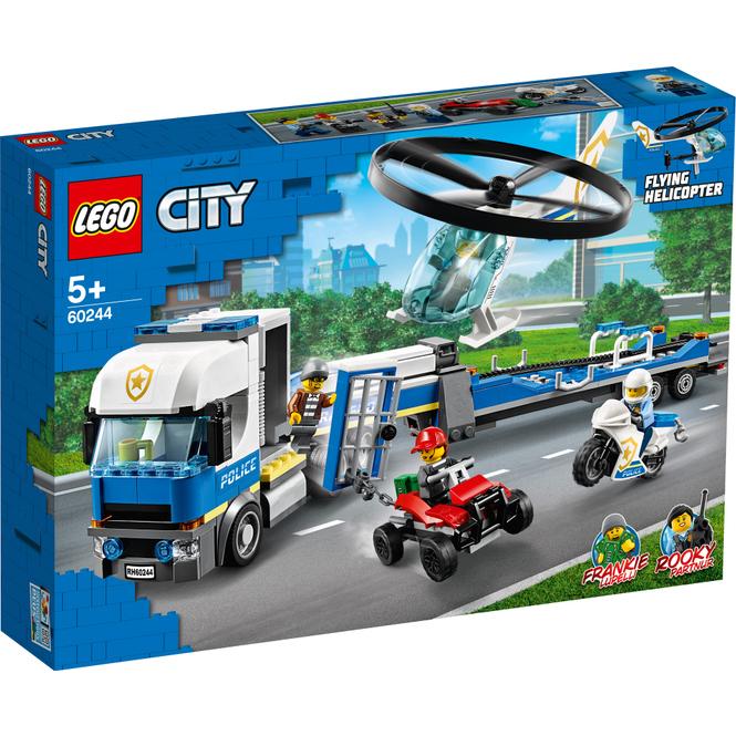 LEGO® City Police 60244 - Polizeihubschrauber-Transport