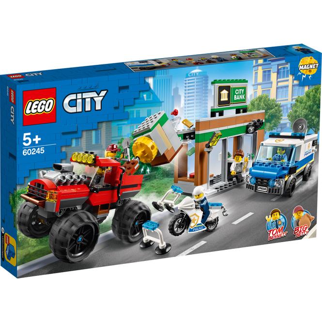 LEGO® City Police 60245 - Raubüberfall mit dem Monster-Truck