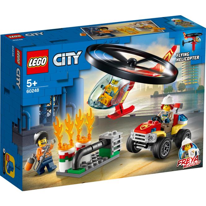 LEGO® City Fire 60248 - Einsatz mit dem Feuerwehrhubschrauber
