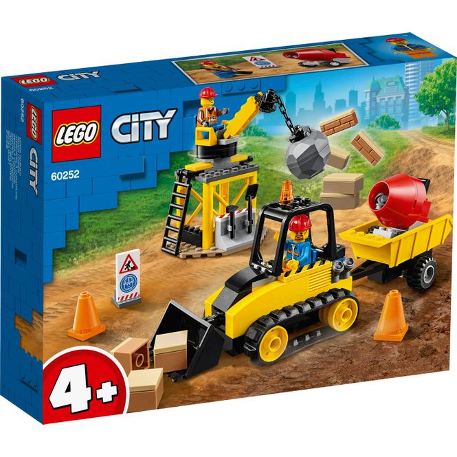 LEGO® City Great Vehicles 60252 - Bagger auf der Baustelle