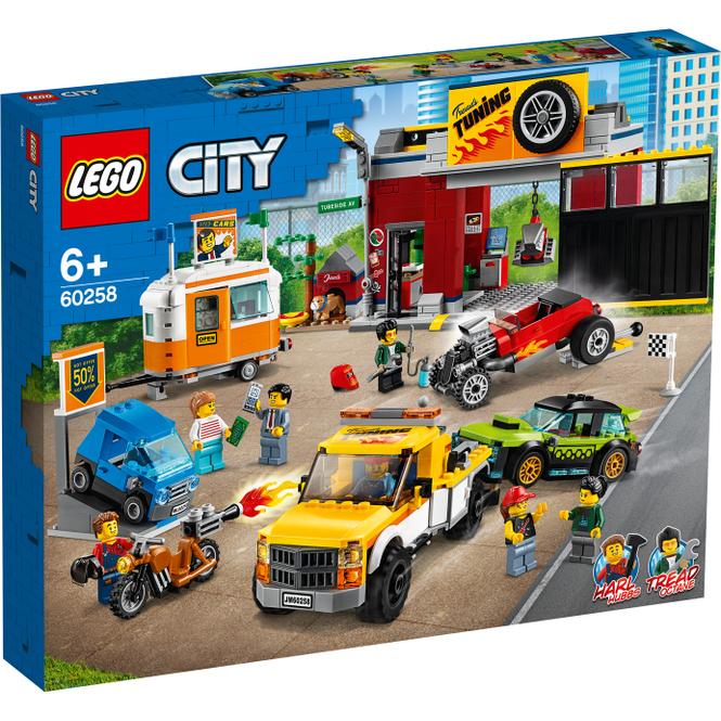 LEGO® City Nitro Wheels 60258 -Tuning-Werkstatt