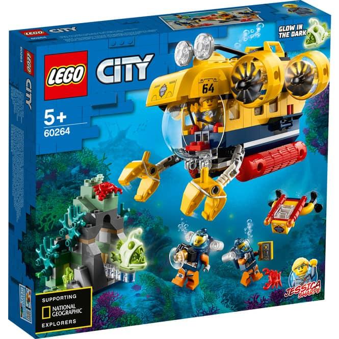 LEGO® City Oceans 60264 - Meeresforschungs-U-Boot