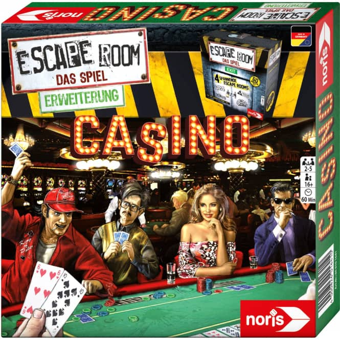 Escape Room - Das Spiel -Erweiterung - Casino