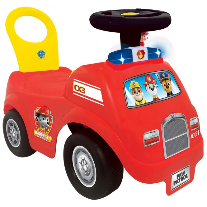 Paw Patrol - Rutschfahrzeug - Feuerwehrauto