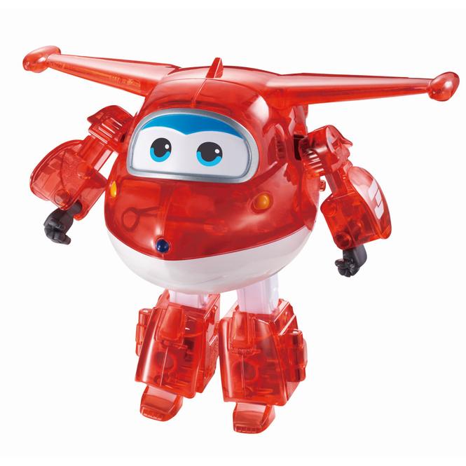 Super Wings - Transform-a-Bots -  Jett X-RAY - ca. 12 cm