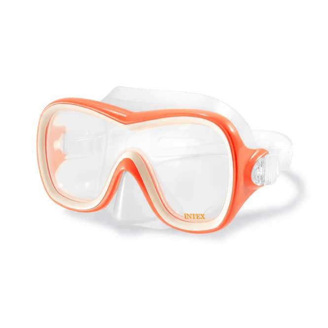 Tauchermaske - Wave Rider - 1 Stück, orange oder türkis