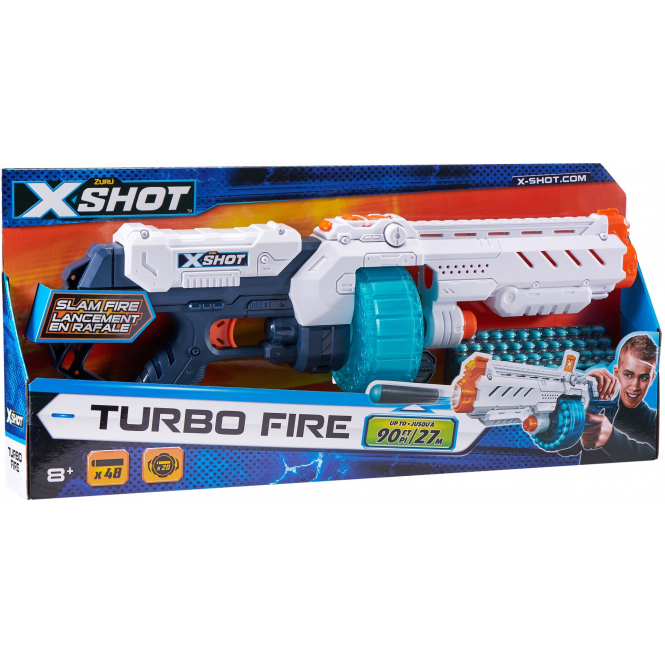 Softdartpistole - Turbo Fire